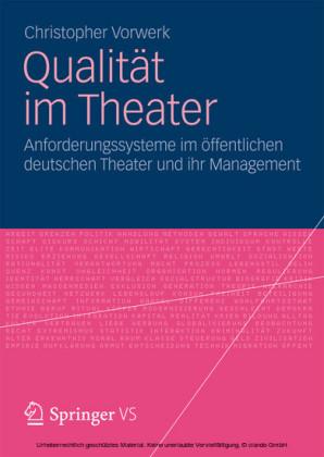 Qualität im Theater