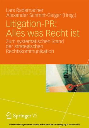 Litigation-PR: Alles was Recht ist