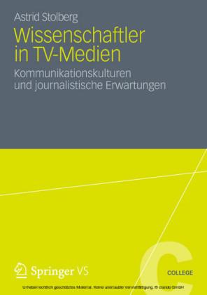 Wissenschaftler in TV-Medien