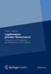 Legitimation privater Governance