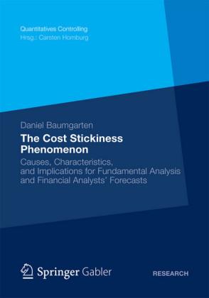 The Cost Stickiness Phenomenon