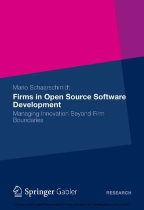 Firms in Open Source Software Development
