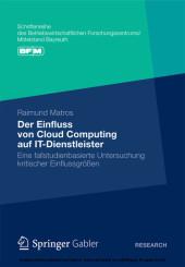 Der Einfluss von Cloud Computing auf IT-Dienstleister