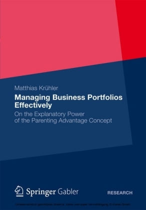 Managing Business Portfolios Effectively