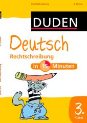 Rechtschreibung 3. Klasse Cover