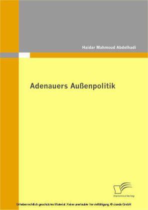 Adenauers Außenpolitik