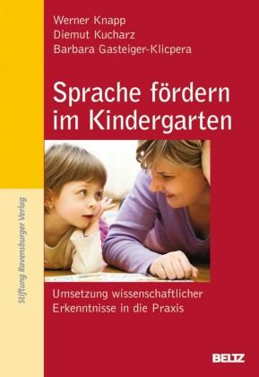 Sprache fördern im Kindergarten
