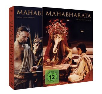 Mahabharata, 3 DVDs (englisches OmU)