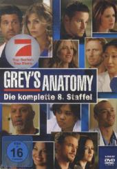 Grey's Anatomy, Die jungen Ärzte, 6 DVDs Cover