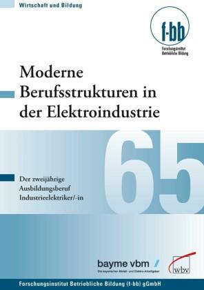 Moderne Berufsstrukturen in der Elektroindustrie