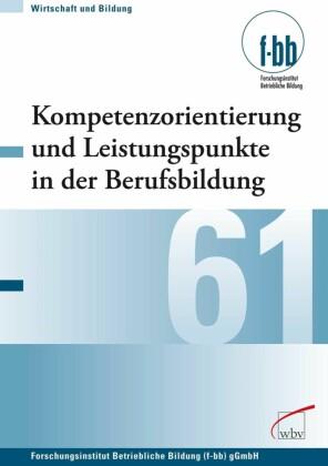 Kompetenzorientierung und Leistungspunkte in der Berufsbildung