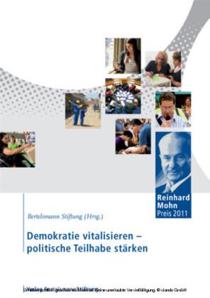 Demokratie vitalisieren - politische Teilhabe stärken