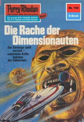 Perry Rhodan 745: Die Rache der Dimensionauten