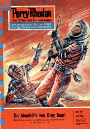 Perry Rhodan - Die Atomhölle von Gray Beast (Heftroman)