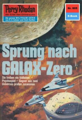 Perry Rhodan - Sprung nach GALAX-Zero (Heftroman)