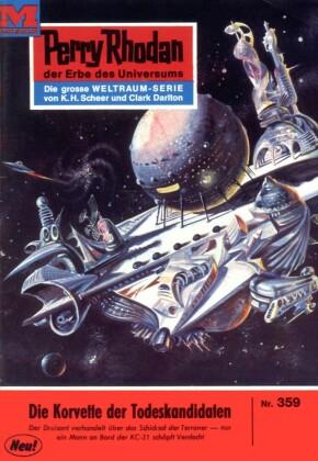 Perry Rhodan - Die Korvette der Todeskandidaten (Heftroman)