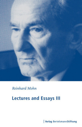 Lectures and Essays III
