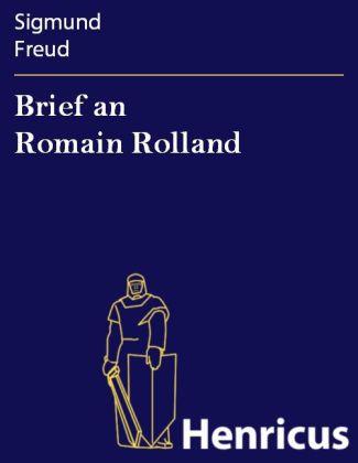 Brief an Romain Rolland