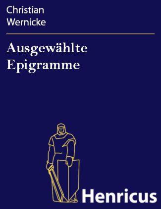 Ausgewählte Epigramme