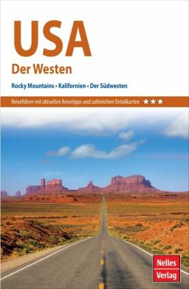Nelles Guide Reiseführer USA - Der Westen
