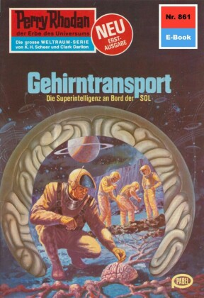 Perry Rhodan 861: Gehirntransport