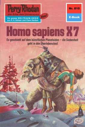 Perry Rhodan 810: Homo sapiens X7