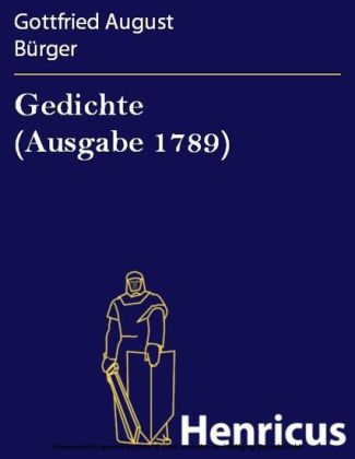 Gedichte (Ausgabe 1789)