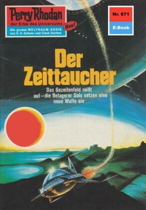 Perry Rhodan - Der Zeittaucher (Heftroman)