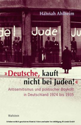 'Deutsche, kauft nicht bei Juden!'