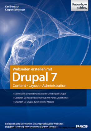 Webseiten erstellen mit Drupal 7