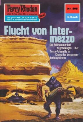 Perry Rhodan 805: Flucht von Intermezzo