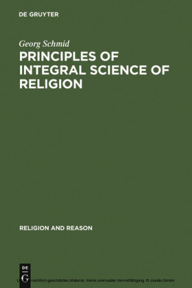 Principles of Integral Science of Religion