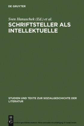 Schriftsteller als Intellektuelle