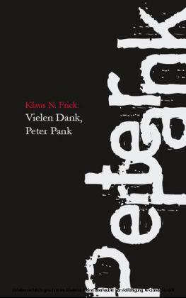 Vielen Dank, Peter Pank