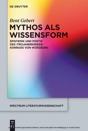 Mythos als Wissensform