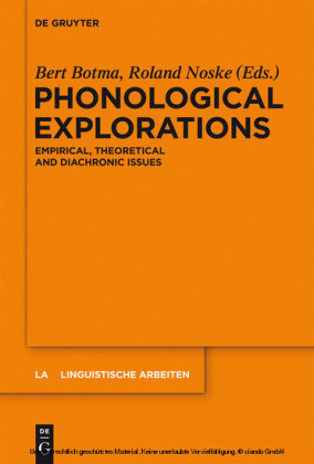 Phonological Explorations