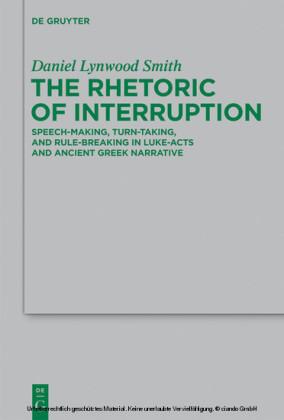 The Rhetoric of Interruption
