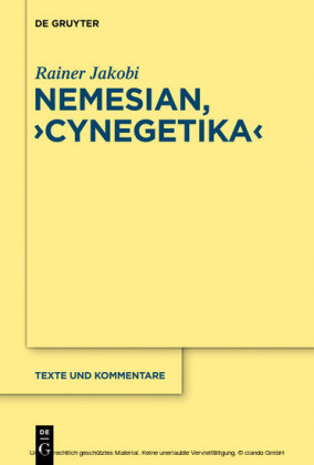 Nemesianus, 'Cynegetica'