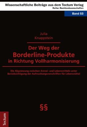 Der Weg der Borderline-Produkte in Richtung Vollharmonisierung