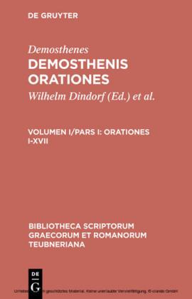 Orationes I-XVII