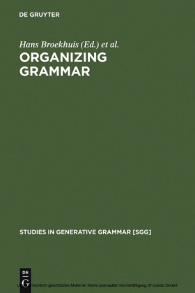 Organizing Grammar