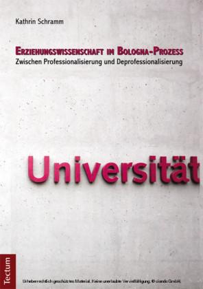 Erziehungswissenschaft im Bologna-Prozess
