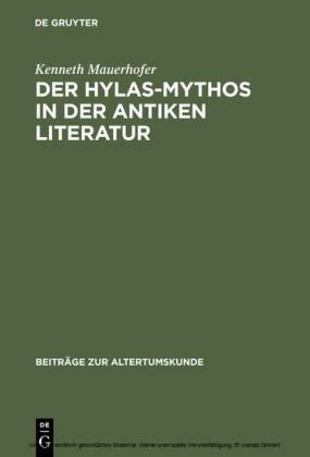 Der Hylas-Mythos in der antiken Literatur