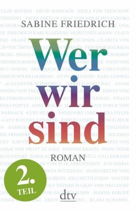 Wer wir sind (2) Roman. Zweiter Teil