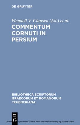 Commentum Cornuti in Persium