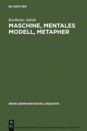 Maschine, mentales Modell, Metapher