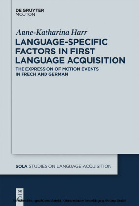 Language-Specific Factors in First Language Acquisition
