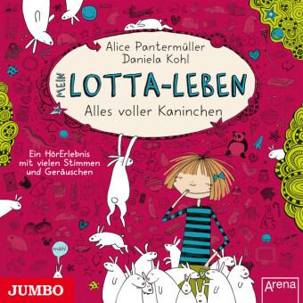 Mein Lotta-Leben - Alles voller Kaninchen, 1 Audio-CD