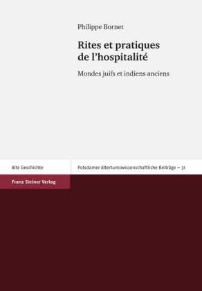 Rites et pratiques de l'hospitalit'