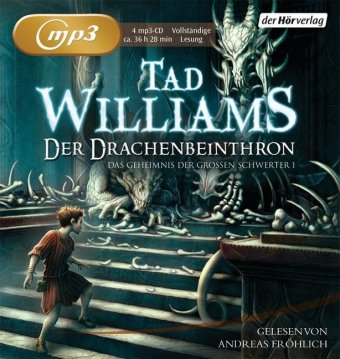 Der Drachenbeinthron, 4 MP3-CDs